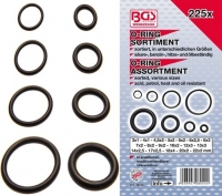 BGS set O-ring brtvi 3-22mm 225 kom    8044