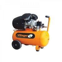 Villager kompresor VAT-VE50L(50l,8bar,316l/min,2,2kW) 042317